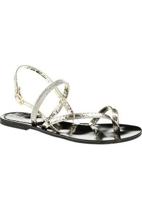 David Jones Kadın Parmak Arası Sandalet Dore Ayna