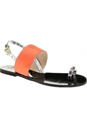 David Jones Kadın Sandalet Oranj Turuncu