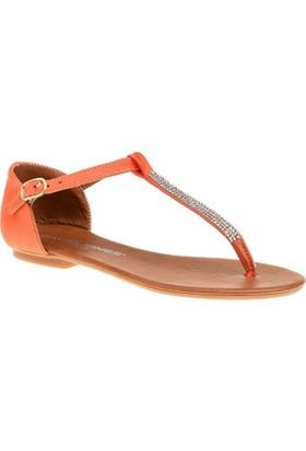 David Jones Kadın Parmak Arası Sandalet Oranj