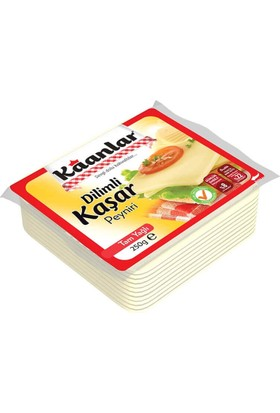 Kaanlar Dilimli Kaşar Peyniri 250 gr