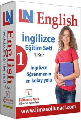 Limasollu Naci İngilizce Eğitim Seti 1. Kur