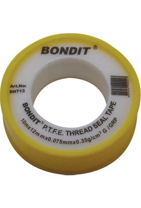 Bondit Teflon Bant 12 Mm 10 Mt (10 Adet)