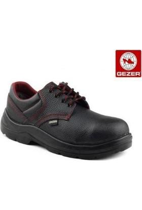 Gezer Çelik Burunlu Deri Ayakkabı Siyah 41 No (1 Çift)