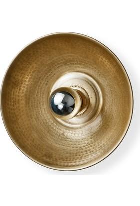 Parlaq Mimarlık Bowl Aplik Pirinç
