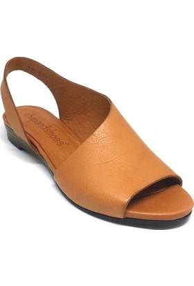 Shop And Shoes 001-712509 Kadın Ayakkabı Taba