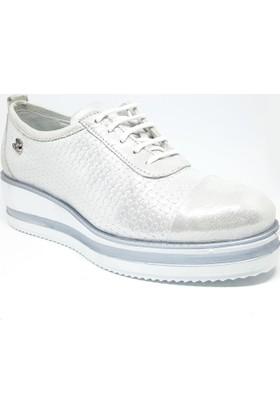 Venüs 121-1810304Y Kadın Ayakkabı Beyaz Sedef