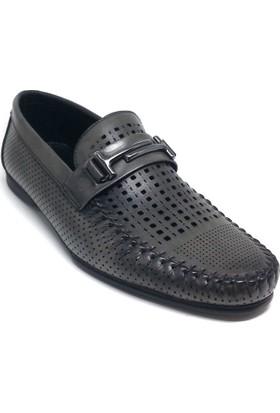 Shop And Shoes 063-8490 Erkek Ayakkabı Antrasit