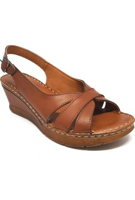 Shop And Shoes 013-151 Kadın Ayakkabı Taba