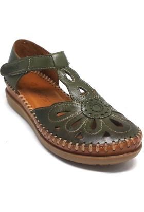 Venüs 121-18793505 Kadın Ayakkabı Yeşil