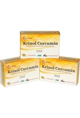 Krinol Novasol Curcumin - Licaps Novasol Zerdeçal Ekstresi - 3 Kutu