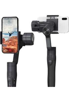 Case 4U Feiyu-Tech Vimble 2 3-Axis Akıllı Telefon Gimbalı - Selfie Gimbal