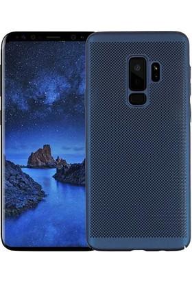 İmonya Samsung Galaxy S9 + Plus Mueral Slim Rubber Delikli Kılıf
