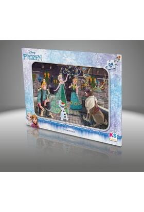 Disney Frozen Frame Puzzle 24 Parça