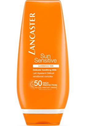 Lancaster Sun Delicate Skin Face & Body Protection Güneş Kremi SPF50 125 ml
