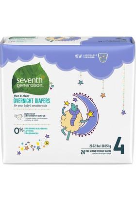 Seventh Generation Bebek Bezi Gece Boyu 4 (10.0 kg ve üstü) 24 Adet