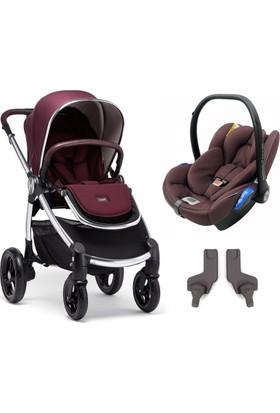 Mamas Papas Ocarro Travel Set Bebek Arabası Mulberry