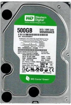 """Western Digital 500GB Internal 7200RPM 3.5"""" (WD5000AACS) HD 7/24"""