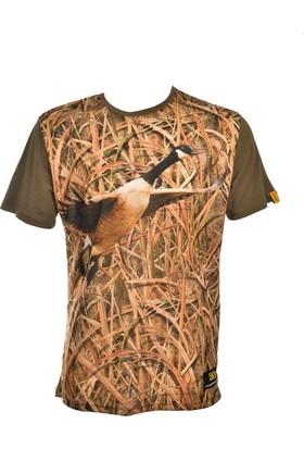 Guntack Kaz Temalı Kısa Kollu Erkek T-Shirt
