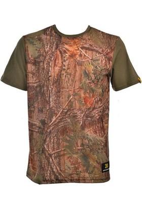 Guntack Orman Temalı Kısa Kollu Erkek T-Shirt