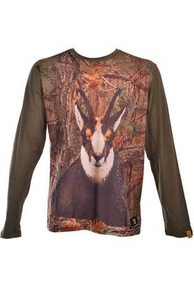 Guntack Keçi Temalı Uzun Kollu Erkek T-Shirt