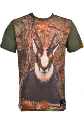 Guntack Keçi Temalı Kısa Kollu Erkek T-Shirt
