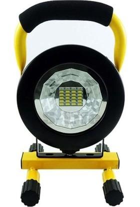 Bailong Ledli Şarjlı Projektör PRJ006