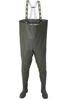 Aj Yeşil PVC Tulum Çizme