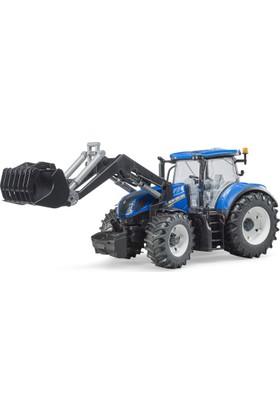 Bruder New Holland T7.315 Kepçeli Traktör