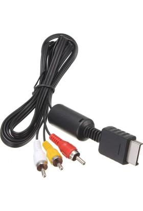 CresCent Playstation 2/3 TV Bağlantı Kablosu PS2/PS3 TV AV Kablo