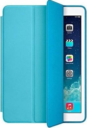 CresCent iPad 6 Nesil 2018 9.7 İnner Soft Lux Deri Smart Case Tablet Kılıfı (A1893/A1954)
