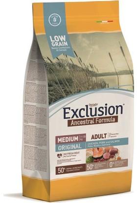 Exclusion Original Düşük Tahıllı Köpek Maması 12 Kg