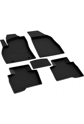 Fiat Fiorino 4D Havuzlu Paspas Siyah A+Kalite