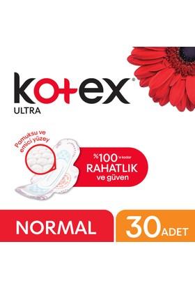 Kotex Ultra Normal Hijyenik Ped (30 Adet) - Süper Ekonomik Paket