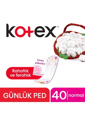 Kotex Anyday Günlük Ped Normal 40 lı