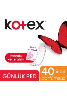 Kotex Lightdays Parfümsüz 40'lı