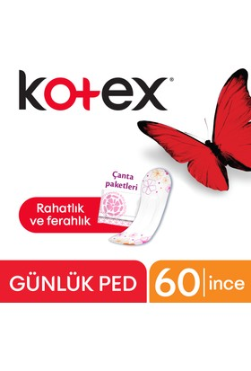 Kotex Günlük Ped Lightdays 60 lı