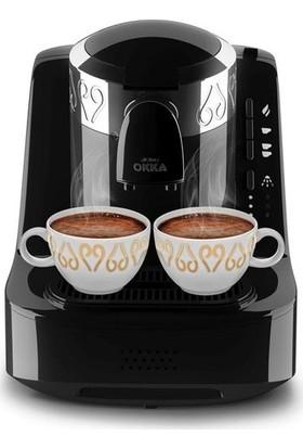 Arzum Okka OK001 Türk Kahve Makinası - Krom Siyah