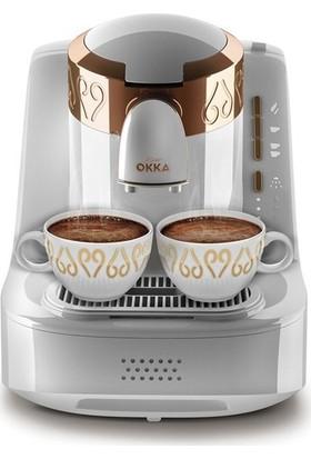 Arzum Okka OK001 Otomatik Türk Kahve Makinesi – Beyaz