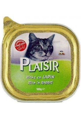 Plaisir Adult Tavşanlı Pate 100 gr