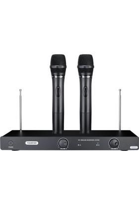 Takstar Ts-6720 Kablosuz Telsiz Mikrofon Siyah