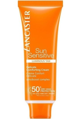 Lancaster Sun Delicate Skin Face Protection Güneş Kremi SPF50 50 ml