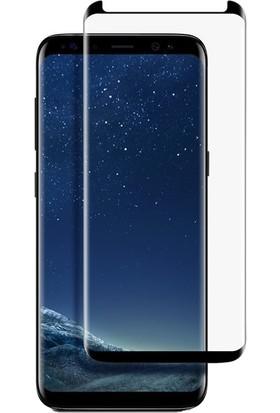 KılıfShop Samsung Galaxy S9 Plus Delikli Sert Kılıf - Rose Gold + Tam Cam Ekran Koruyucu