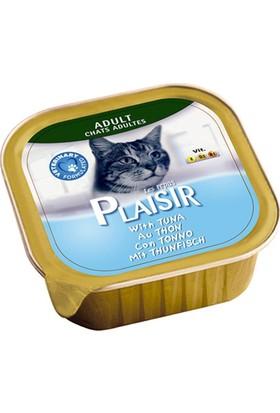 Plaisir 32'li Tuna Balıklı Pate Yetişkin Kedi Maması 100 Gr