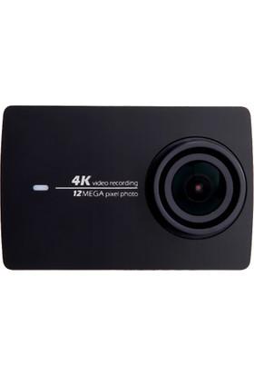 Xiaomi Yi 4K Kamera + Su Geçirmez Housing Kılıf Siyah (Global Versiyon)