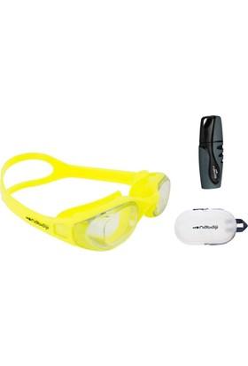 Nabaiji Yüzücü Gözlüğü + Buğu Önleyici + Yüzücü Çanta