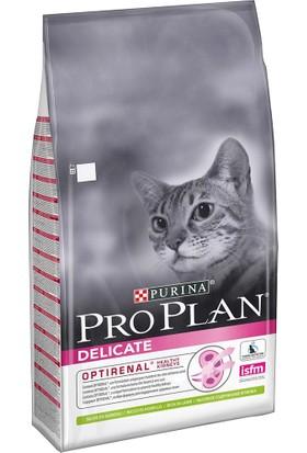 Pro Plan Delicate Hassas ve Seçici Yetişkin Kediler İçin Kuzu Etli Kedi Maması 10 Kg