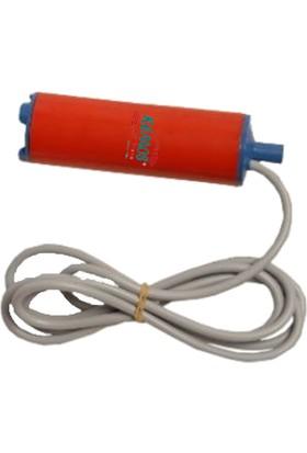 Kemos Rich Plastik 12 Volt Mazot ve Sıvı Transfer Pompası (%100 Yerli Üretim)