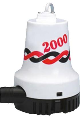 Kemos Sintine 2000 12 Volt Sıvı Transfer Pompası (%100 Yerli Üretim)