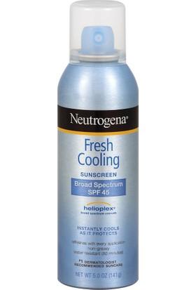 Neutrogena Fresh Cooling Sunscreen SPF45 Body Mist 141 gr