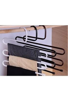 Pratik Şeyler Metal Pantolon Askısı 5 Katlı